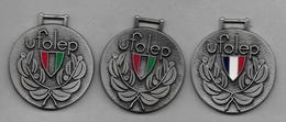 3 Médailles   -  Ufolep - Sports
