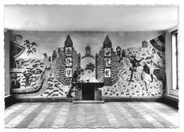 OYE PLAGE - Centre De Vacances Du Grouoe Vallourec - Fresque En Céramique De Christiane D'Estienne - Oye Plage