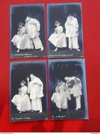 """SPECTACLE  - THEÂTRE   -   Lot De 10 Cartes Sur Une Saynète De  """"Colombine Et Pierrot """" - Theater"""