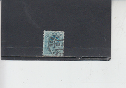 SPAGNA  1909-22 -  Unificato  250 - Serie Corrente - 1889-1931 Regno: Alfonso XIII