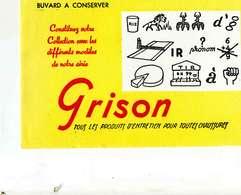 "B 15  /   1 BUVARD  "" GRISON "" - Blotters"