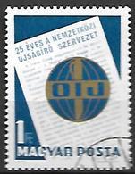 HONGRIE   -   1971 .   Y&T N° 2176 Oblitéré.  Journalisme - Hungary