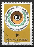 HONGRIE   -   1971 .   Y&T N° 2208 Oblitéré.   Lutte Contre Le Racisme - Hungary