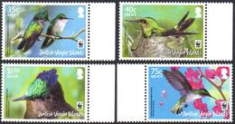 Virgin Islands Iles Vierges Britaniques 1122/25 WWF Oiseaux - W.W.F.