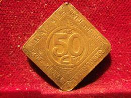 GENT Occupation Allemande 1914-1918 50 Centimes 1915 - 1909-1934: Albert I