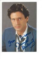 21461 - Daniel Auteuil Avec Signature Autographe - Artistes