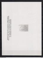 ZNP 12 BREENDONK  ZWART WIT VELLETJE 1980 - Feuillets Noir & Blanc