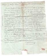 """CONSULAT: Lettre  Mai 1801 (an 9) """" Flotte Anglaise Se Dirige Sur Les Isles Vénitiennes """" Lettre Vers Thorame Haute - Documents Historiques"""