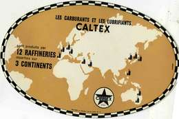 """B 15  /   1 BUVARD  """" CALTEX   """" - Blotters"""