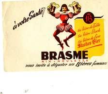 "B 15  /   1 BUVARD  "" BRASME   "" - Blotters"