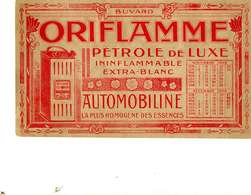 "B 15  /   1 BUVARD  ""ORIFLAMME "" - Blotters"