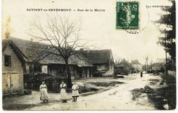 6559 - Saone Et Loire - SAVIGNY En REVERMONT :  Rue De La Mairie    - CIRCULEE En  1912 - Other Municipalities