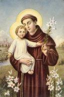 Santino Formato Cartolina SANT'ANTONIO - OTTIMO P88 - Religione & Esoterismo