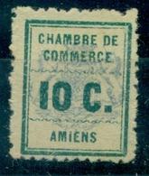 FRANCE  GREVE N° 1 AMIENS Nxx Léger Décalque Du Cadre Au Verso TB Cote 35 €. - Huelga