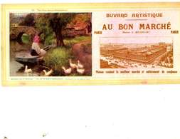 "B 17  /   1 BUVARD  "" AU BON MARCHE   "" - Blotters"