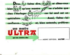 """B 17  /   1 BUVARD  """" ULTRA   """" - Blotters"""