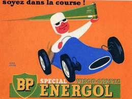 """B 17  /   1 BUVARD  """" BP   """" - Blotters"""