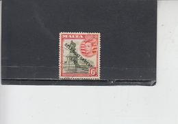 MALTA  1948 - Unificato  209 - Giorgio VI - Soprastampato - Malta