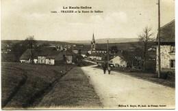 6564 - Haute Saone   - FRAHIER  :  Et La Route De Belfort - Frankrijk