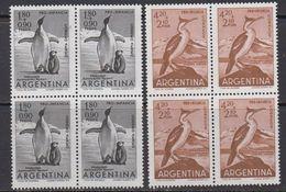 Argentina 1961 Penguins 2v Bl Of 4** Mnh (41812A) - Ongebruikt