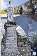 Santino MADONNA DI LOURDES Con Preghiera Per La XXV Giornata Mondiale Del Malato 2017 - PERFETTO P88 - Religione & Esoterismo