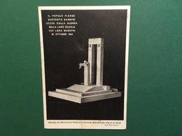 Cartolina Monumento Ossario In Memoria Delle Piccole Vittime Di Gorla - 1944 Ca. - Cartoline