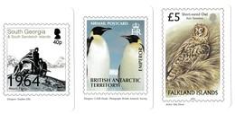 Calendar Cards BAT - South Georgia - Falkland Islands 2004 - Andere