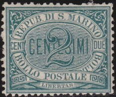 San Marino      .   Yvert     .   1      .   *     .    Mint-hinged     .   /    .   Neuf Avec Charniere - Saint-Marin