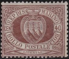 San Marino      .   Yvert     .   17      .   *     .    Mint-hinged     .   /    .   Neuf Avec Charniere - San Marino