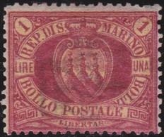 San Marino      .   Yvert     .   20  ( 2 Scans )      .   *     .    Mint-hinged     .   /    .   Neuf Avec Charniere - San Marino