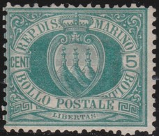 San Marino      .   Yvert     .   27       .   *     .    Mint-hinged     .   /    .   Neuf Avec Charniere - Saint-Marin