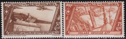 Italy      .   Yvert     .   Air  39/40    .   *  .    Mint-hinged  .   /    .  Neuf  Avec Charniere - 1900-44 Vittorio Emanuele III