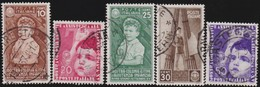 Italy      .   Yvert     .  5  Stamps       .  O     .   Cancelled  .   /    .  Oblitéré - 1900-44 Vittorio Emanuele III