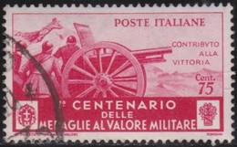 Italy      .   Yvert     .   Stamp       .  O     .   Cancelled  .   /    .  Oblitéré - Usati