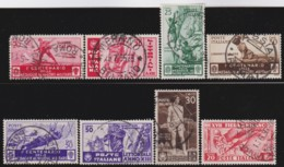Italy      .   Yvert     .     8  Stamps            .  O     .   Cancelled  .   /    .  Oblitéré - Usati