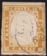Italy      .   Yvert     .     Stamp            .  O     .   Cancelled  .   /    .  Oblitéré - 1861-78 Vittorio Emanuele II