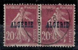 ALGERIE        N°  YVERT    13/13b          OBLITERE       ( O   2/38 ) - Algérie (1924-1962)