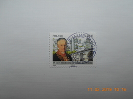 FRANCE 2017 YTN° 5153  BICENTENAIRE CIMENT ARTICIEL Timbre Neuf Oblitéré Cachet Rond - Used Stamps