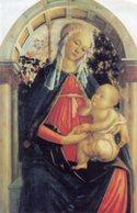 Firenze - Santino MADONNA DEL ROSETO, Galleria Degli Uffizi, IX Giornata Del Malato, Febbraio 2001 - OTTIMO P88 - Religione & Esoterismo