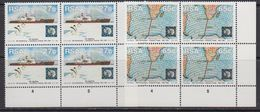 South Africa 1991 30th Anniversary Antarctic Treaty 2v Bl Of 4 (corners) ** Mnh (41814B) - Zuid-Afrika (1961-...)