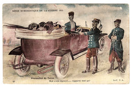 MILITARIA - Série Humoristique De La Guerre 1914 - 48 - Précaution De Turco - Ed. La C. P. A. - Umoristiche