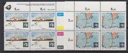 South Africa 1991 30th Anniversary Antarctic Treaty 2v Bl Of 4 (corners) ** Mnh (41814D) - Zuid-Afrika (1961-...)