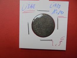 LIEGE LIARD 1750 JEAN THEODORE DE BAVIERE - Belgique