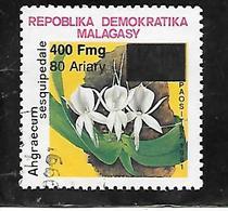 TIMBRE OBLITERE  SURCHARGE DE MADAGASCAR EN 1998 N° MICHEL 2106 - Madagascar (1960-...)