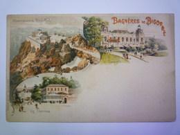 2019  (417)  BAGNERES-de-BIGORRE  (Hautes-Pyrénées)  :  CARTE  Pionnière  Vers 1900    X - Bagneres De Bigorre