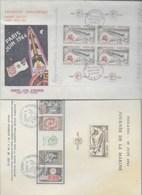 1er Jour PHILATEC 64 - 17 Documents - 1960-1969