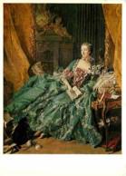 Art - Peinture - François Boucher - Madame Pompadour - Voir Scans Recto-Verso - Peintures & Tableaux