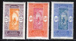 Dahomey 1922 Yvert 63 / 65 * TB Charniere(s) - Dahomey (1899-1944)