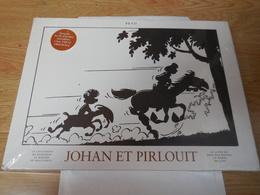Johan Et Pirlouit - Coffret Intégrale.INTEGRALE DES PLANCHES REPRODUITES A LEUR TAILLE ORIGINALES.TOME 1 - Johan Et Pirlouit