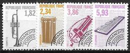 France 1993 Préoblitérés N° 228/231 Neufs Musique à 20% De La Cote - Préoblitérés